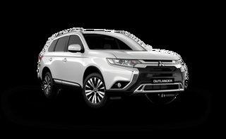 2021 Mitsubishi Outlander ZL LS White Solid 6 Speed Automatic SUV.