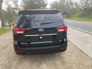 2017 Kia Carnival YP MY17 SLi Black 6 Speed Sports Automatic Wagon