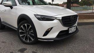 2020 Mazda CX-3 DK2W7A Akari SKYACTIV-Drive FWD White Pearl 6 Speed Sports Automatic Wagon.