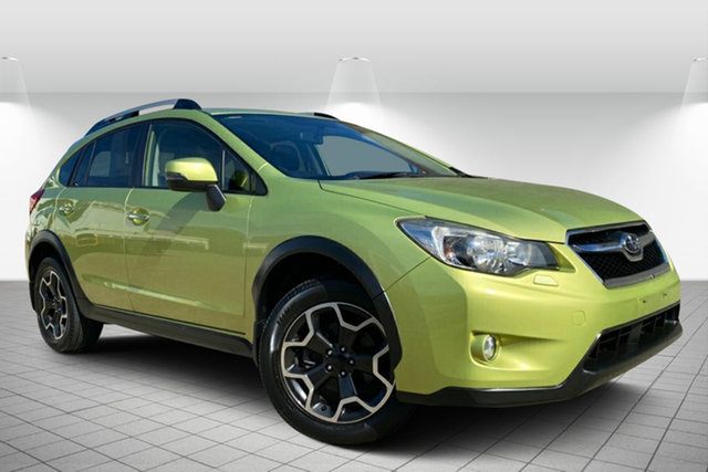 Used Subaru XV G4X MY14 2.0i-S Lineartronic AWD Hervey Bay, 2014 Subaru XV G4X MY14 2.0i-S Lineartronic AWD Green 6 Speed Constant Variable Wagon