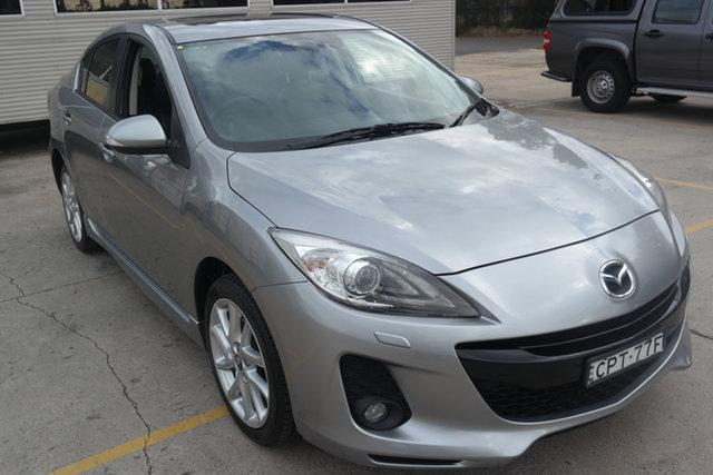 Used Mazda 3 BL10L2 MY13 SP25 Maryville, 2013 Mazda 3 BL10L2 MY13 SP25 Silver 6 Speed Manual Sedan