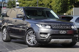 2015 Land Rover Range Rover Sport L494 15.5MY HSE Grey 8 Speed Sports Automatic Wagon.