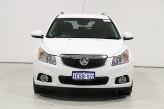 2014 Holden Cruze JH MY14 CDX White 6 Speed Automatic Sportswagon.