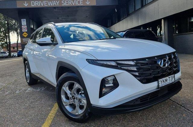 Demo Hyundai Tucson NX4.V1 MY22 2WD Warwick Farm, 2021 Hyundai Tucson NX4.V1 MY22 2WD White Cream 6 Speed Automatic Wagon