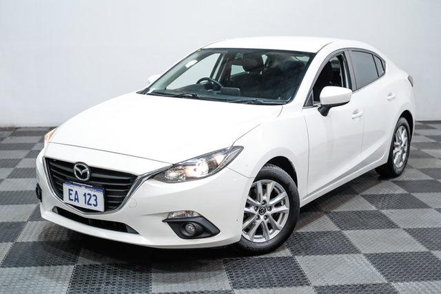 Used Mazda 3 BM5278 Maxx SKYACTIV-Drive Edgewater, 2015 Mazda 3 BM5278 Maxx SKYACTIV-Drive White 6 Speed Sports Automatic Sedan
