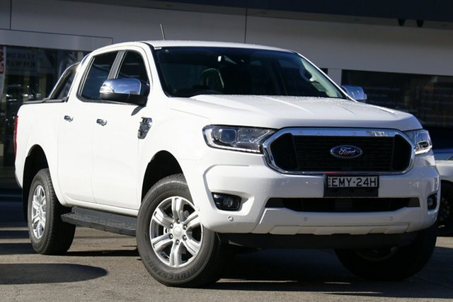 Used Ford Ranger PX MkIII 2020.25MY XLT Hi-Rider Homebush, 2020 Ford Ranger PX MkIII 2020.25MY XLT Hi-Rider Arctic White 6 Speed Sports Automatic