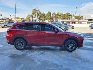 2018 Mazda CX-8 KG4W2A Sport SKYACTIV-Drive i-ACTIV AWD Red 6 Speed Sports Automatic Wagon.
