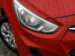 2017 Hyundai Accent RB4 MY17 Active Red 6 Speed Constant Variable Sedan.