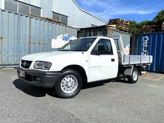2002 Holden Rodeo TF MY02 LX 4x2 White 5 Speed Manual Cab Chassis