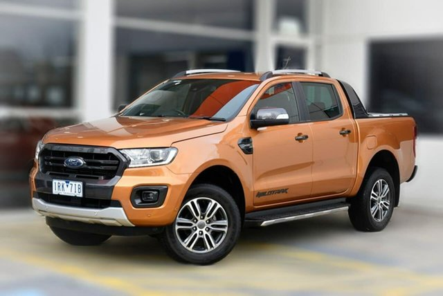 Used Ford Ranger PX MkIII 2020.25MY Wildtrak Berwick, 2020 Ford Ranger PX MkIII 2020.25MY Wildtrak Orange 10 Speed Sports Automatic Double Cab Pick Up