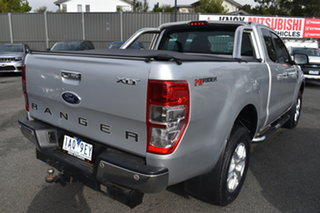 2013 Ford Ranger PX XLT Super Cab 4x2 Hi-Rider Silver 6 Speed Sports Automatic Utility