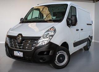 2015 Renault Master X62 Low Roof SWB AMT White 6 Speed Sports Automatic Single Clutch Van.
