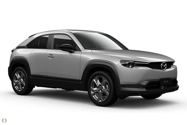 New Mazda MX-30 DR2W7A G20e SKYACTIV-Drive Touring Waitara, 2021 Mazda MX-30 DR2W7A G20e SKYACTIV-Drive Touring White 6 Speed Sports Automatic Wagon