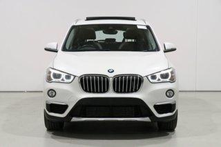 2016 BMW X1 F48 sDrive 20I White 8 Speed Automatic Wagon.