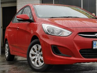 2017 Hyundai Accent RB4 MY17 Active Red 6 Speed Constant Variable Sedan