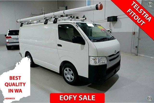 Used Toyota HiAce KDH201R LWB Kenwick, 2017 Toyota HiAce KDH201R LWB White 4 Speed Automatic Van