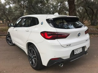 2020 BMW X2 F39 sDrive20i Coupe DCT Steptronic M Sport White 7 Speed Sports Automatic Dual Clutch