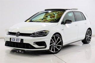 2018 Volkswagen Golf AU MY18 R Grid Edition White 6 Speed Manual Hatchback.