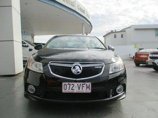 2011 Holden Cruze JH MY12 SRi V Black 6 Speed Automatic Sedan