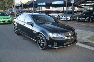 2007 Holden Commodore VE MY08 SS Black 6 Speed Manual Sedan.
