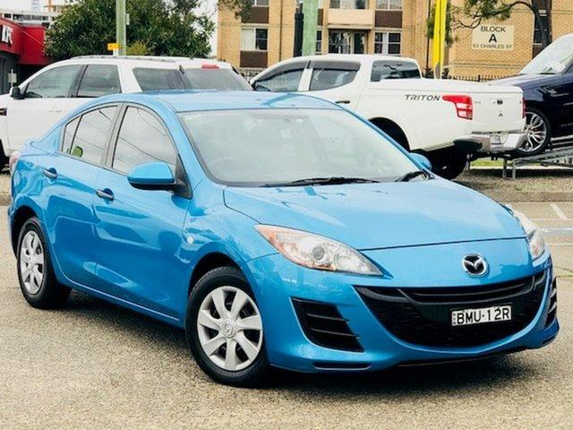 Used Mazda 3 BL10F1 Neo Activematic Liverpool, 2009 Mazda 3 BL10F1 Neo Activematic Blue 5 Speed Sports Automatic Sedan