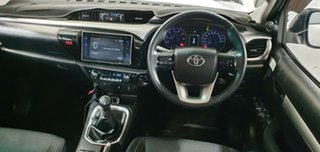 2016 Toyota Hilux GUN126R SR5 Double Cab White 6 Speed Manual Utility.