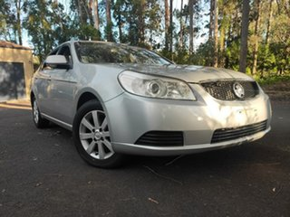 2008 Holden Epica EP MY09 CDXi Metallic Silver 6 Speed Sports Automatic Sedan.