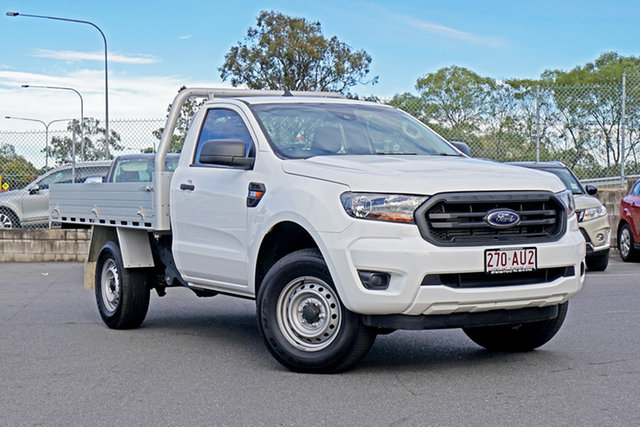 Used Ford Ranger PX MkIII 2020.75MY XL Ebbw Vale, 2020 Ford Ranger PX MkIII 2020.75MY XL Arctic White 6 Speed Sports Automatic Single Cab Chassis