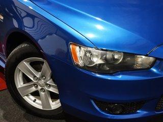 2007 Mitsubishi Lancer CJ MY08 VR Blue 5 Speed Manual Sedan.