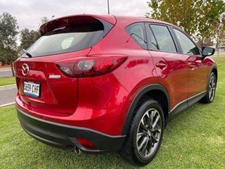 2015 Mazda CX-5 KE1022 Akera SKYACTIV-Drive AWD Red 6 Speed Sports Automatic Wagon