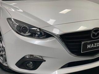 2015 Mazda 3 BM5278 Maxx SKYACTIV-Drive White 6 Speed Sports Automatic Sedan.
