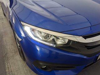 2016 Honda Civic 10th Gen MY16 VTi-S Blue 1 Speed Constant Variable Sedan.