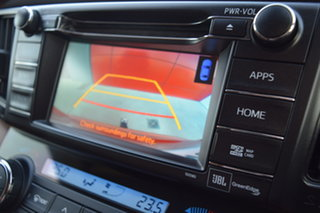 2015 Toyota RAV4 ASA44R Cruiser AWD Inferno Orange 6 Speed Sports Automatic Wagon.