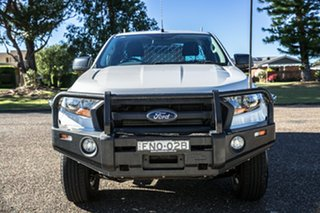 2015 Ford Ranger PX MkII XL Cool White 6 Speed Manual Cab Chassis.