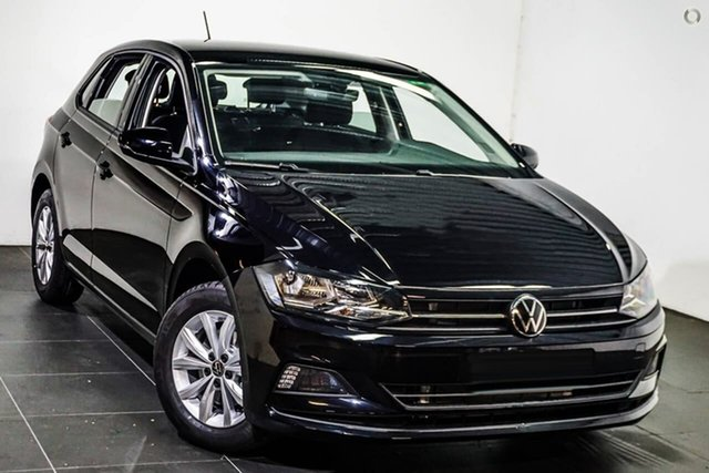 New Volkswagen Polo AW MY21 85TSI DSG Comfortline Botany, 2021 Volkswagen Polo AW MY21 85TSI DSG Comfortline Black 7 Speed Sports Automatic Dual Clutch