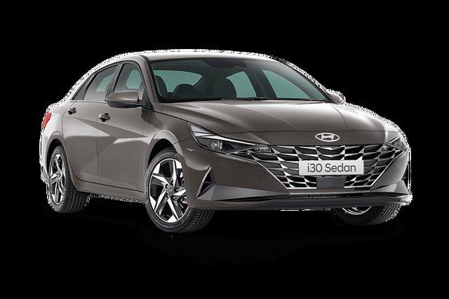 Demo Hyundai i30 CN7.V1 MY21 Active Hamilton, 2021 Hyundai i30 CN7.V1 MY21 Active Fluid Metal 6 Speed Sports Automatic Sedan