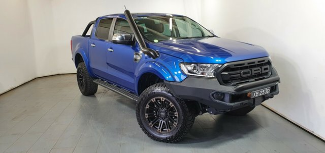 Used Ford Ranger PX MkIII 2019.00MY XLT Elizabeth, 2019 Ford Ranger PX MkIII 2019.00MY XLT Blue 6 Speed Sports Automatic Double Cab Pick Up