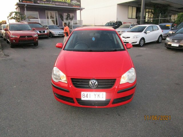Used Volkswagen Polo 9N MY06 Upgrade Match Coorparoo, 2006 Volkswagen Polo 9N MY06 Upgrade Match Red 4 Speed Automatic Hatchback