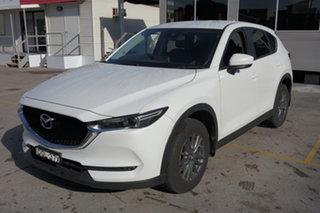 2017 Mazda CX-5 KE1032 Maxx SKYACTIV-Drive i-ACTIV AWD Sport White 6 Speed Sports Automatic Wagon.