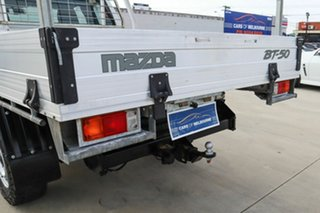 2015 Mazda BT-50 UR0YF1 XT Freestyle 4x2 Hi-Rider White 6 Speed Sports Automatic Cab Chassis.