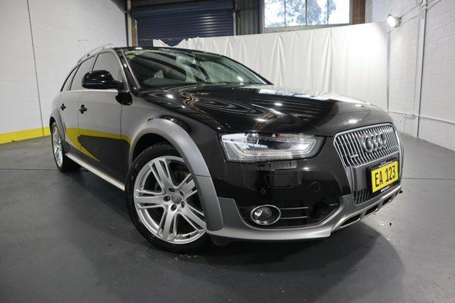 Used Audi A4 B8 8K MY15 Allroad S Tronic Quattro Castle Hill, 2015 Audi A4 B8 8K MY15 Allroad S Tronic Quattro Black/Grey 7 Speed Sports Automatic Dual Clutch