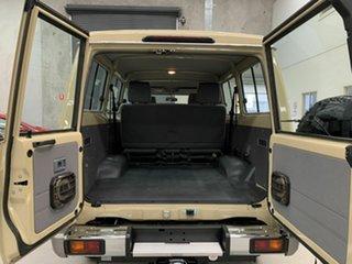 2021 Toyota Landcruiser VDJ78R GXL Troopcarrier Fawn 5 Speed Manual Wagon