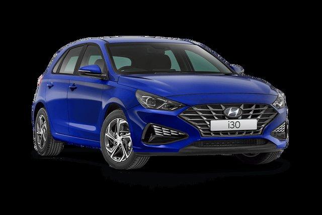 New Hyundai i30 Hamilton, 2021 Hyundai i30 PD.V4 i30 Intense Blue 6 Speed Automatic Hatchback