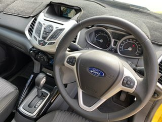 2014 Ford Ecosport BK Trend Yellow 6 Speed Automatic Wagon