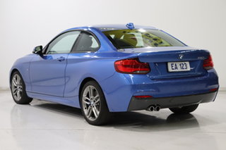2018 BMW 230i F22 MY17 M Sport Blue 8 Speed Automatic Coupe