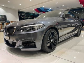 2020 BMW 2 Series F22 LCI M240I Mineral Grey 8 Speed Sports Automatic Coupe.
