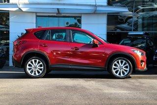 2013 Mazda CX-5 KE1021 Grand Touring SKYACTIV-Drive AWD Red 6 Speed Sports Automatic Wagon.