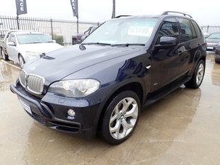 2007 BMW X5 E70 4.8I Blue 6 Speed Auto Steptronic Wagon.