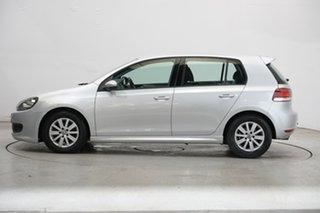 2012 Volkswagen Golf VI MY12.5 BlueMOTION Silver 5 Speed Manual Hatchback.