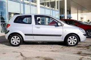 2009 Hyundai Getz TB MY09 S Silver 5 Speed Manual Hatchback.